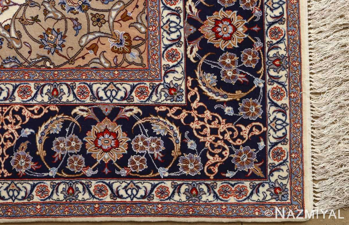 roomsize vintage isfahan persian rug 51148 part Nazmiyal