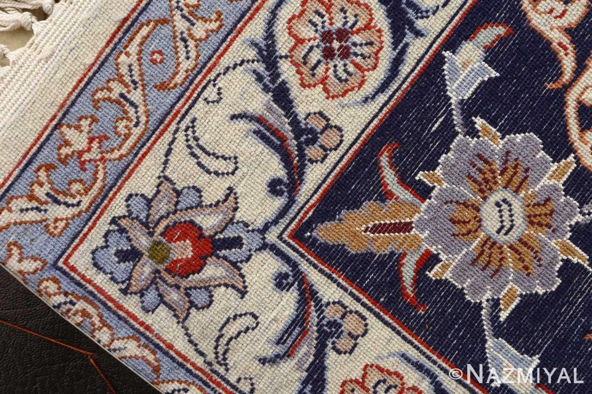 roomsize vintage isfahan persian rug 51148 weave Nazmiyal