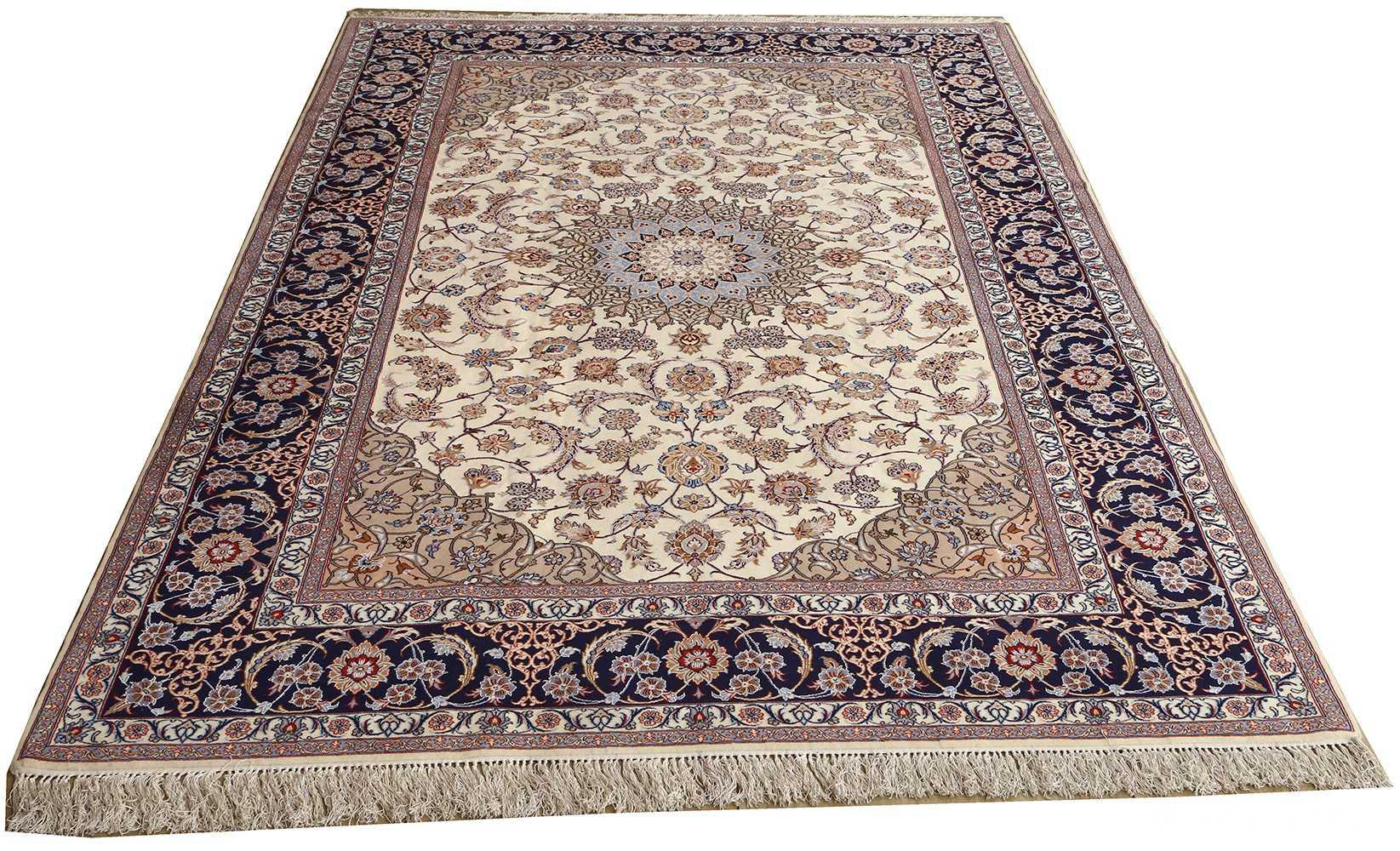roomsize vintage isfahan persian rug 51148 whole Nazmiyal