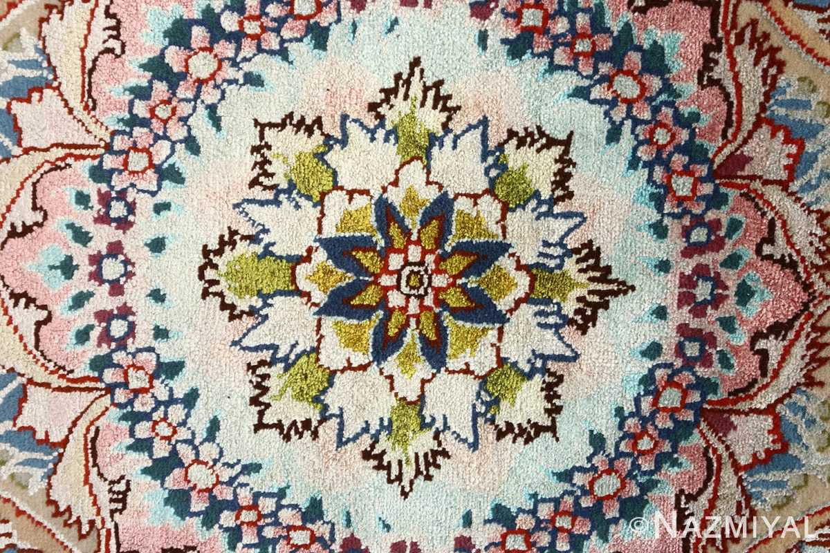 round black vintage tabriz persian rug 51136 middle Nazmiyal
