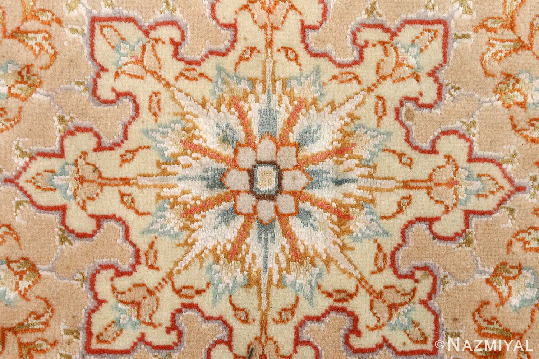 round vintage tabriz persian rug 51134 center Nazmiyal