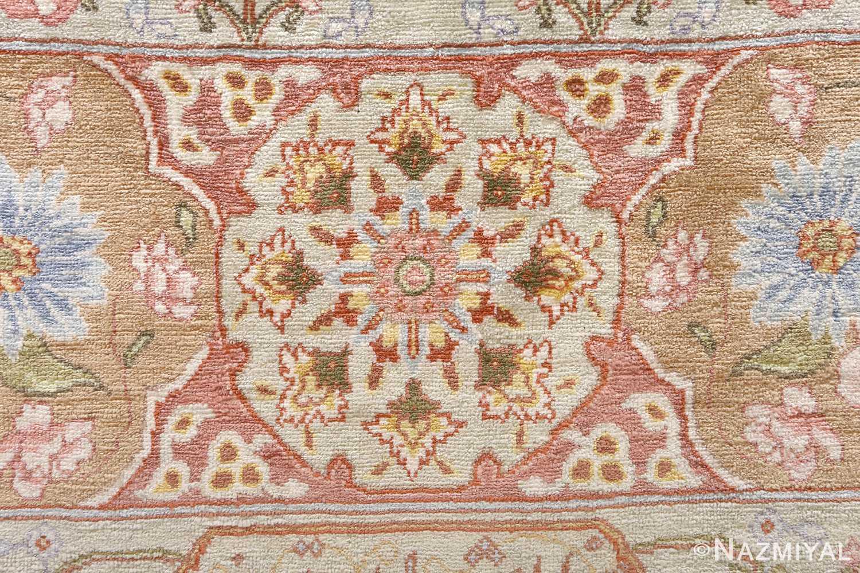 silk shahsavarpour design vintage tabriz persian rug 51162 top Nazmiyal