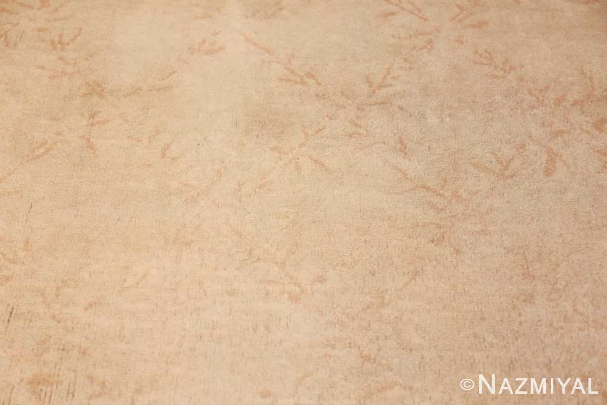 square antique french savonnerie rug 48999 field Nazmiyal