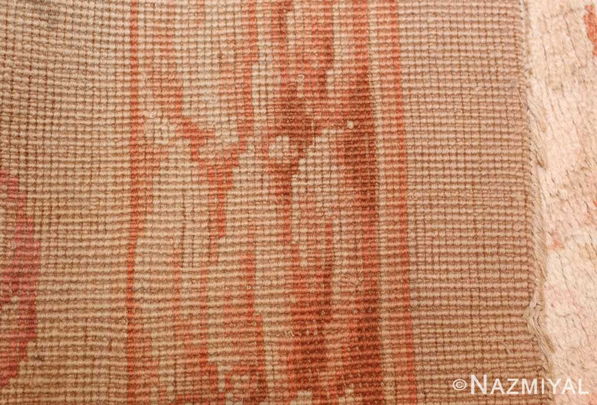 square antique french savonnerie rug 48999 weave Nazmiyal