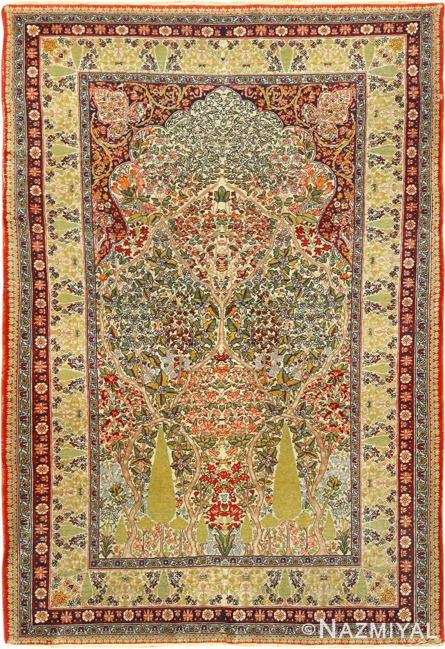 Breathtaking Tree Of Life Kerman Persian Rug 49357 By Nazmiyal