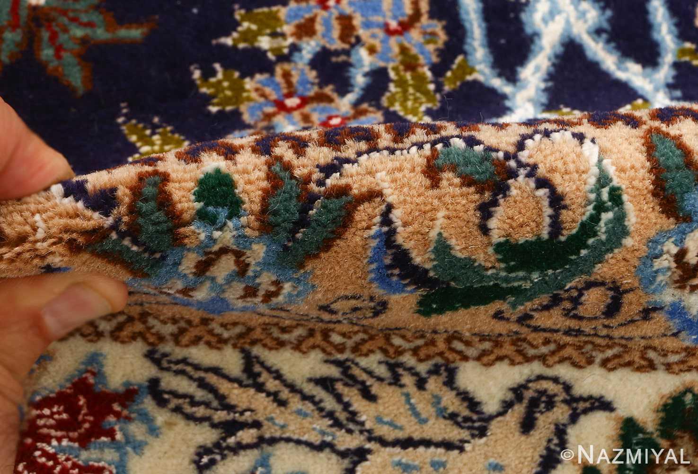tree of life design vintage nain persian rug 51156 pile Nazmiyal