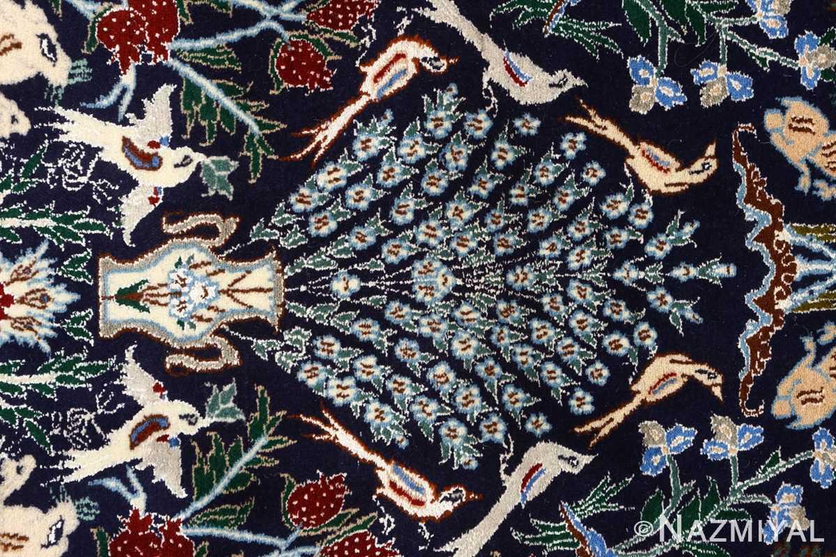 tree of life design vintage nain persian rug 51156 vase Nazmiyal