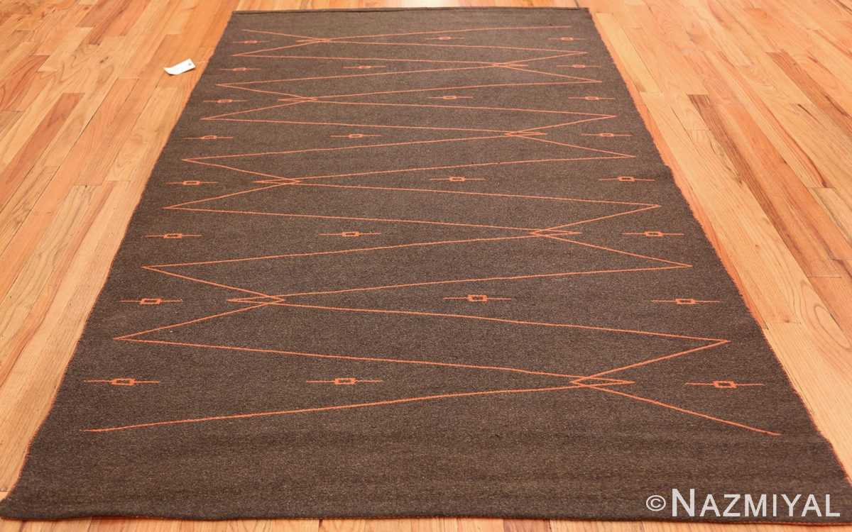 trilli design scandinavian kilim rug 49262 by mattokutomo oy grey full Nazmiyal