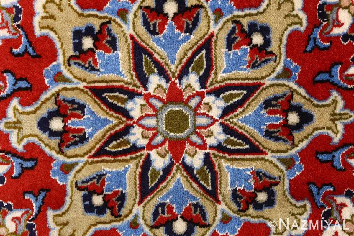 vintage isfahan persian rug 51154 middle Nazmiyal