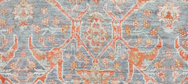 Antique Turkish Angora Oushak Rug by nazmiyal