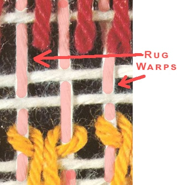 Rug Warps by Nazmiyal