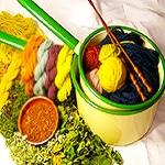 Natural vegetable Rug Dyes by Nazmiyal