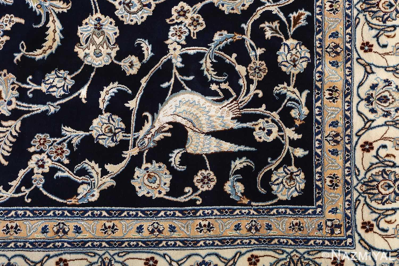 animal motif vintage nain persian rug 51164 part Nazmiyal