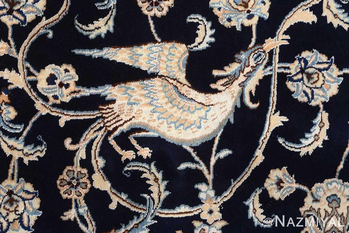 animal motif vintage nain persian rug 51164 phoenix Nazmiyal