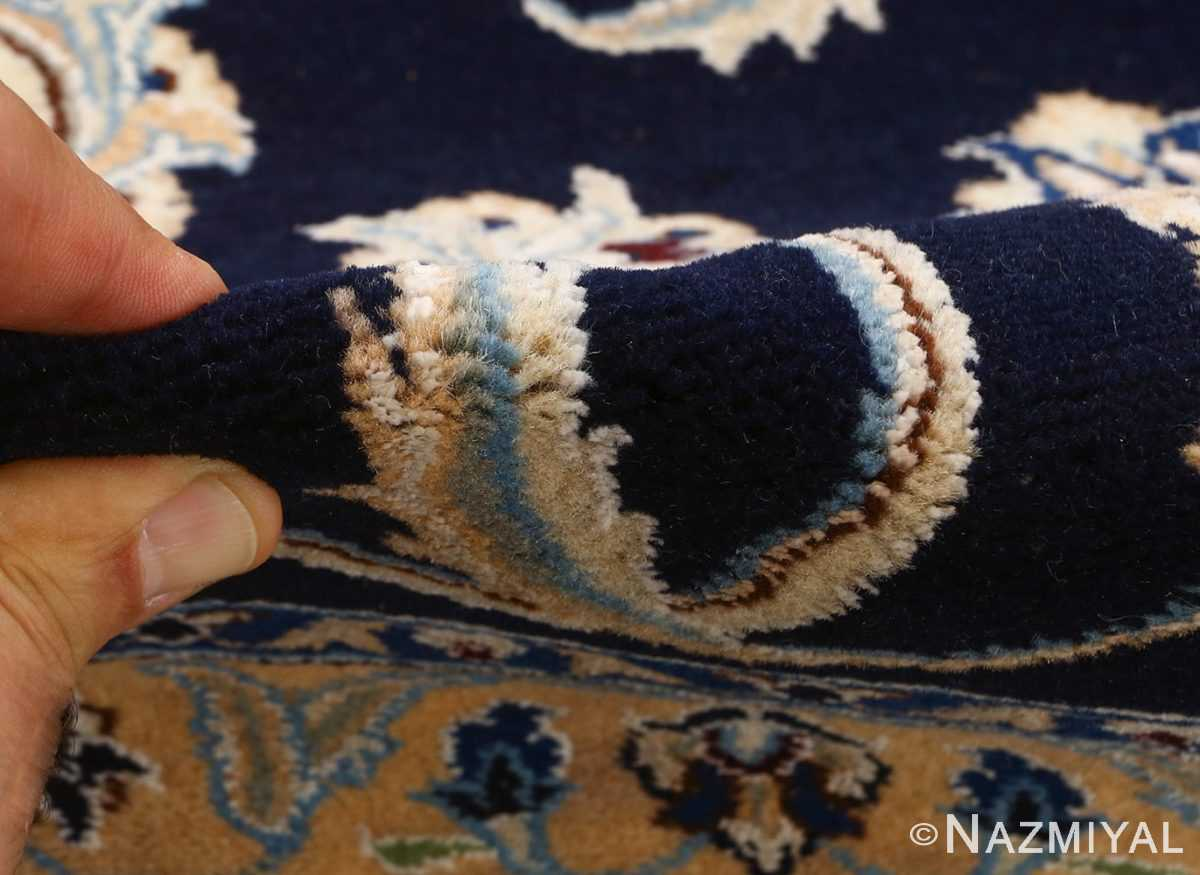 animal motif vintage nain persian rug 51164 pile Nazmiyal