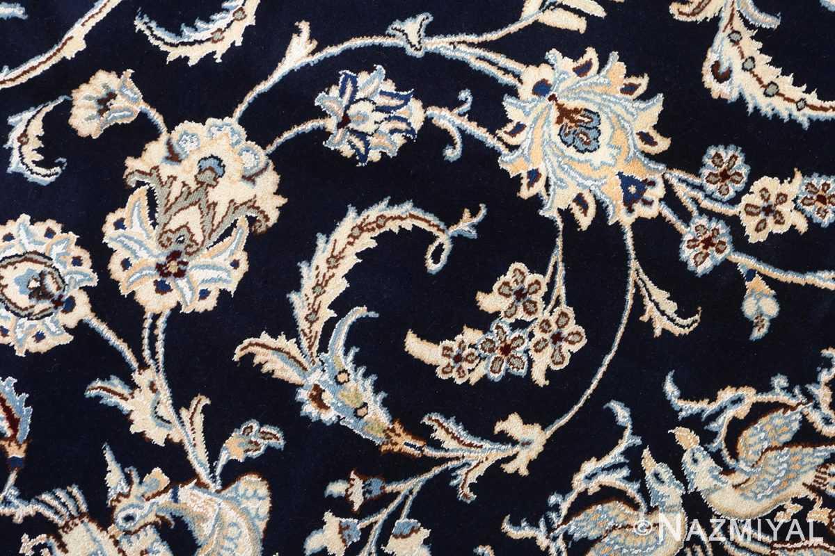 animal motif vintage nain persian rug 51164 scroll Nazmiyal