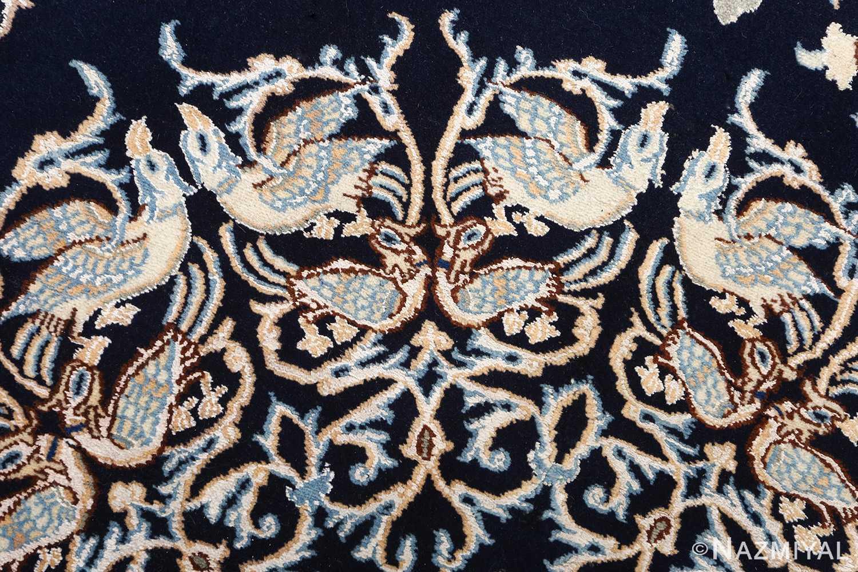 animal motif vintage nain persian rug 51164 top Nazmiyal