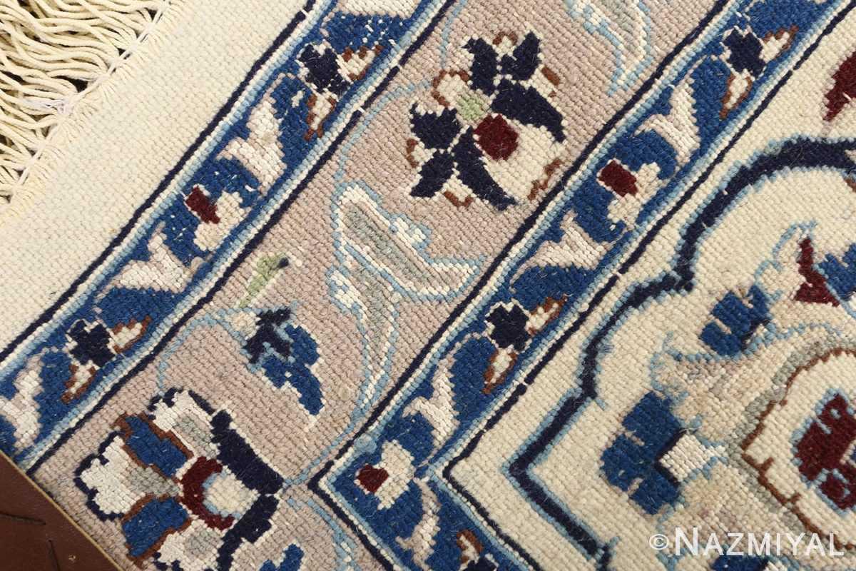 animal motif vintage nain persian rug 51164 weave Nazmiyal