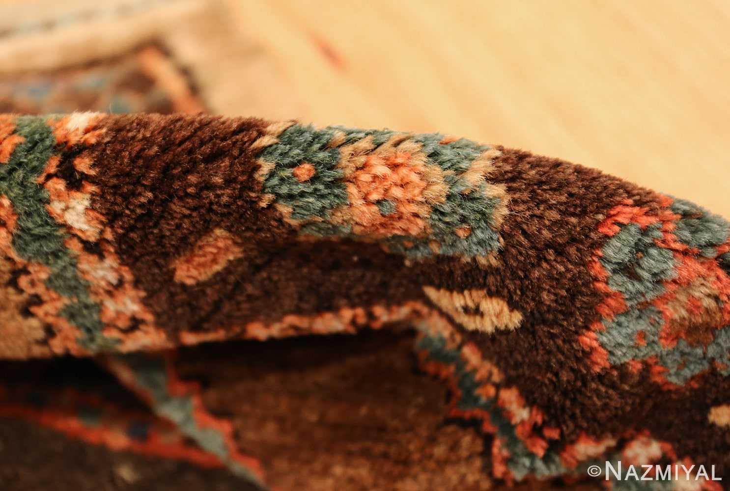 antique tribal kurdish persian rug runner 49275 pile Nazmiyal