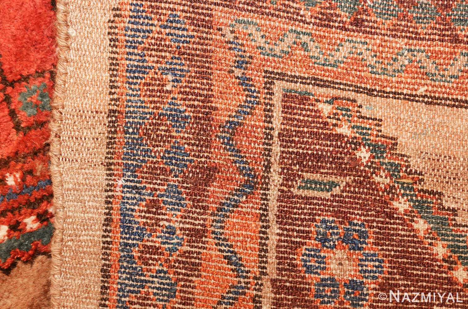 antique tribal kurdish persian rug runner 49275 weave Nazmiyal