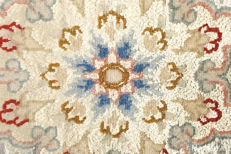 black background vintage tabriz persian rug 51160 center Nazmiyal