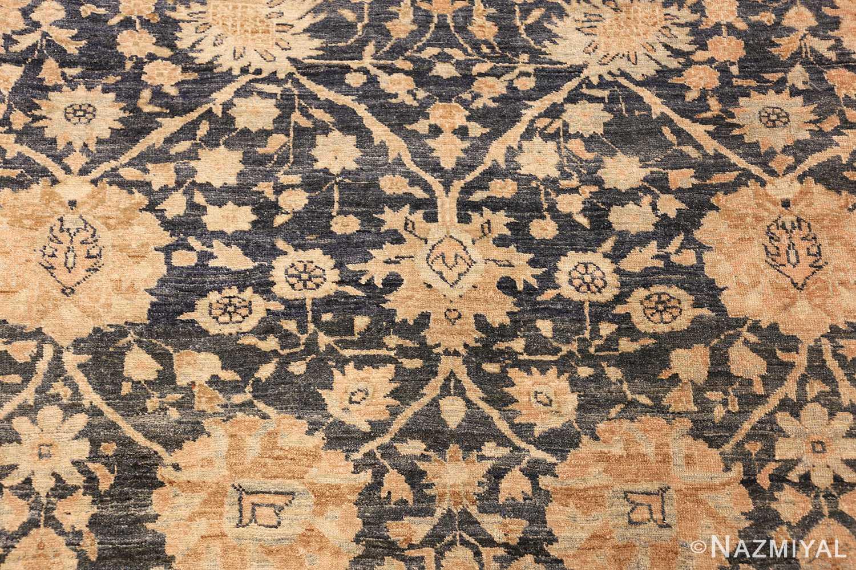 dark background antique tabriz persian rug 49244 center Nazmiyal