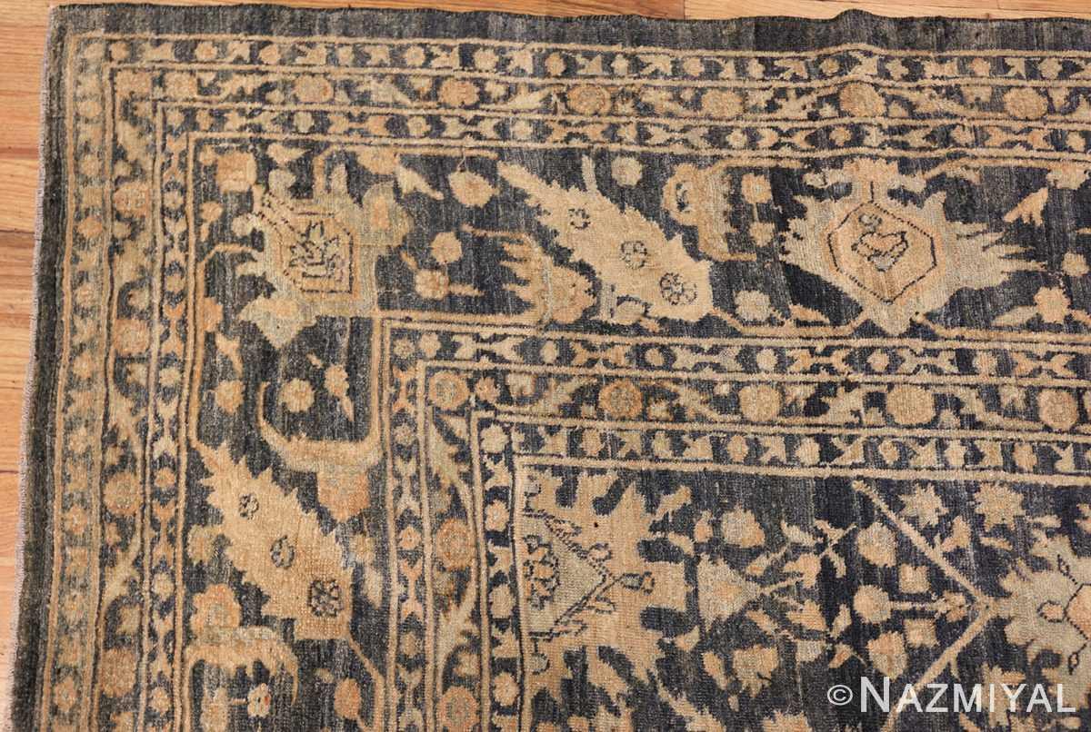 dark background antique tabriz persian rug 49244 corner Nazmiyal