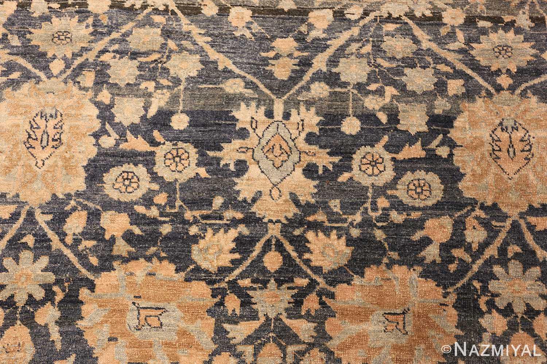 dark background antique tabriz persian rug 49244 field Nazmiyal