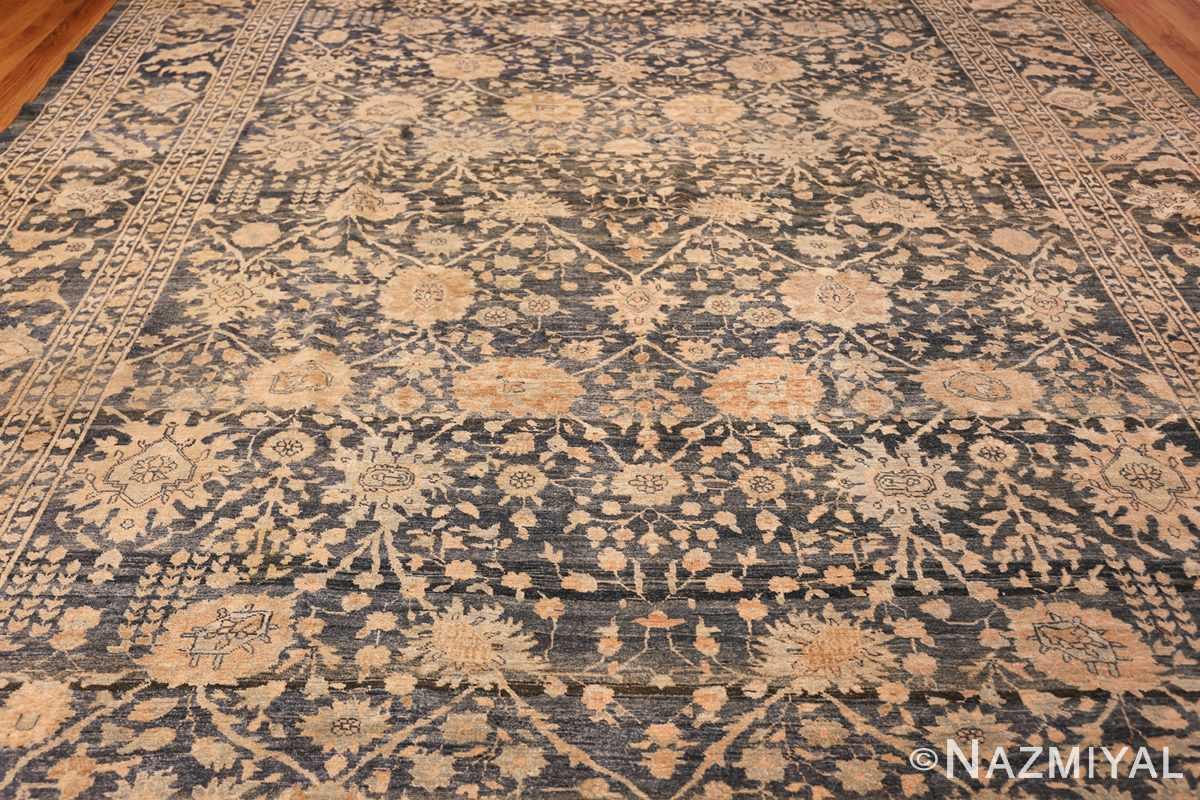dark background antique tabriz persian rug 49244 middle Nazmiyal