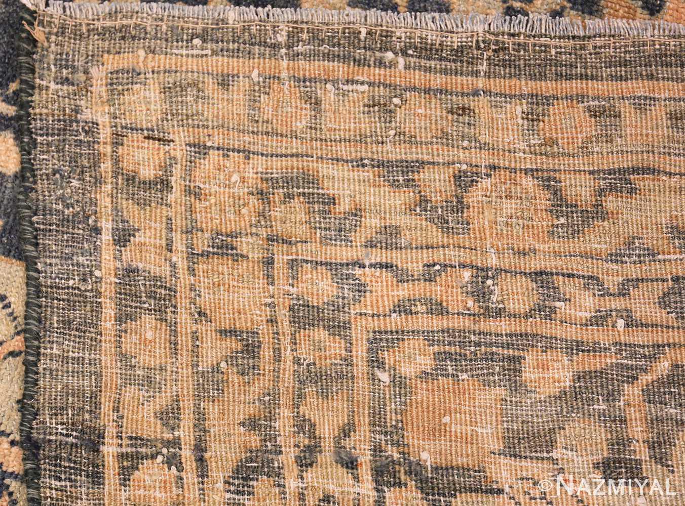 dark background antique tabriz persian rug 49244 weave Nazmiyal
