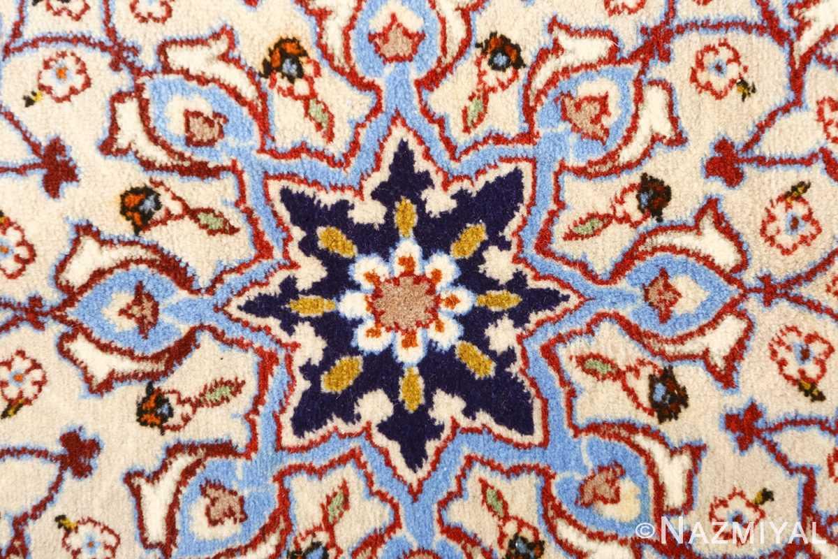 geometric vintage isfahan persian rug 51166 flower Nazmiyal