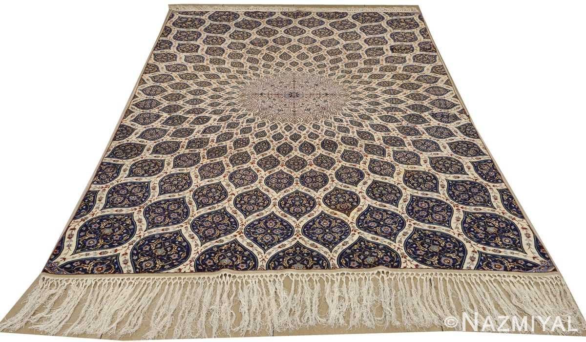 geometric vintage isfahan persian rug 51166 whole Nazmiyal