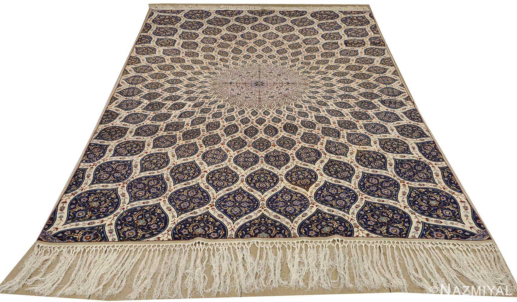 geometric vintage isfahan persian rug 51166 whole Nazmiyal