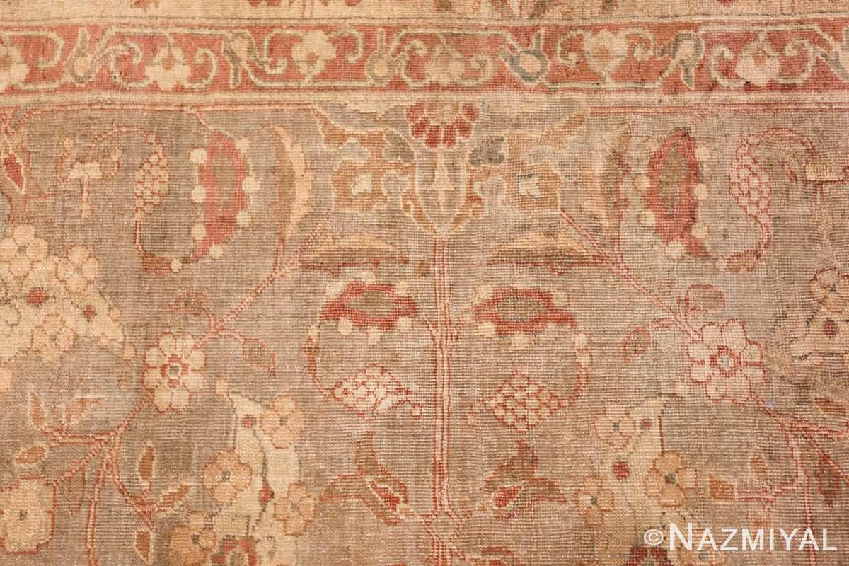 gray background antique agra indian rug 49084 top Nazmiyal
