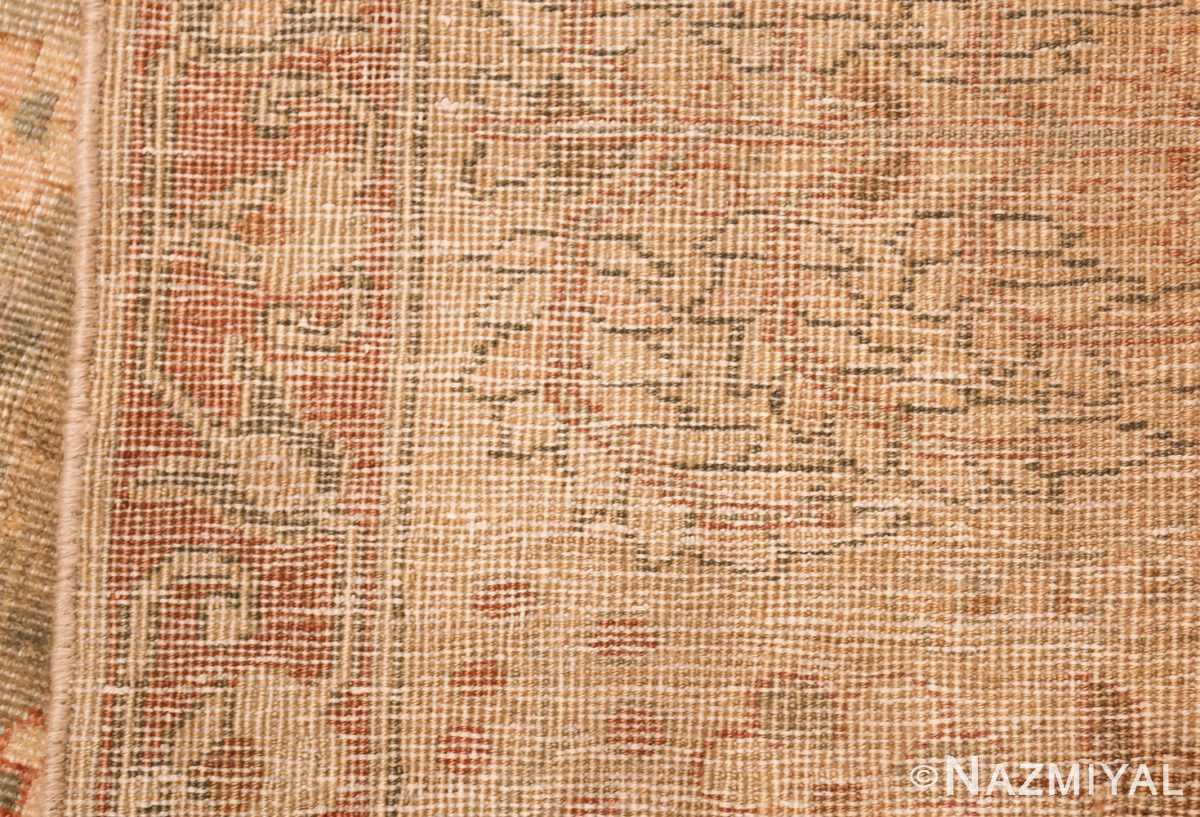 gray background antique agra indian rug 49084 weave Nazmiyal