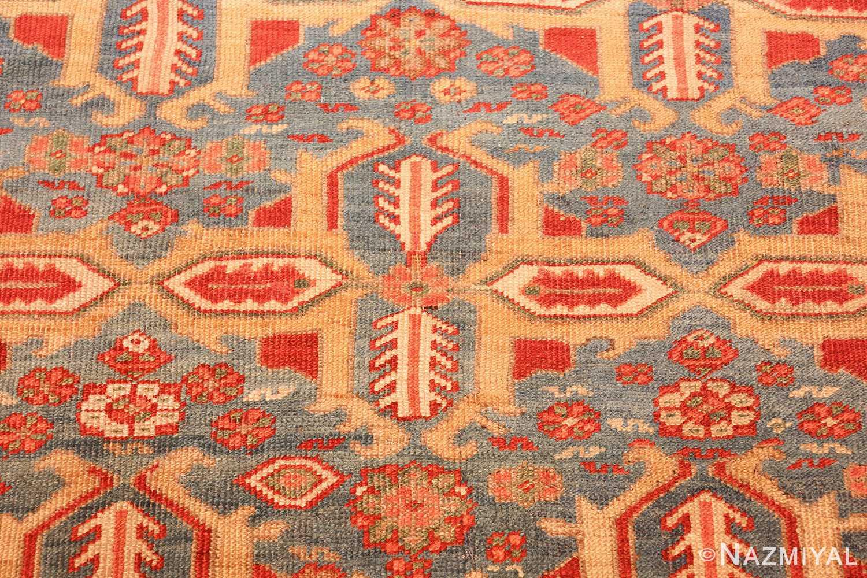 large blue background antique bakshaish persian rug 49299 one Nazmiyal