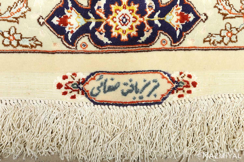 large geometric vintage tabriz persian rug 51119 signature Nazmiyal