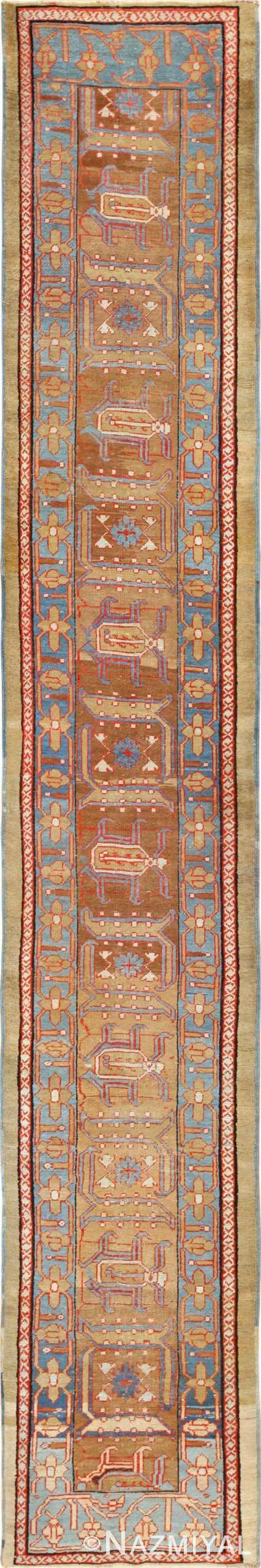 long antique bakshaish persian rug 49278 Nazmiyal