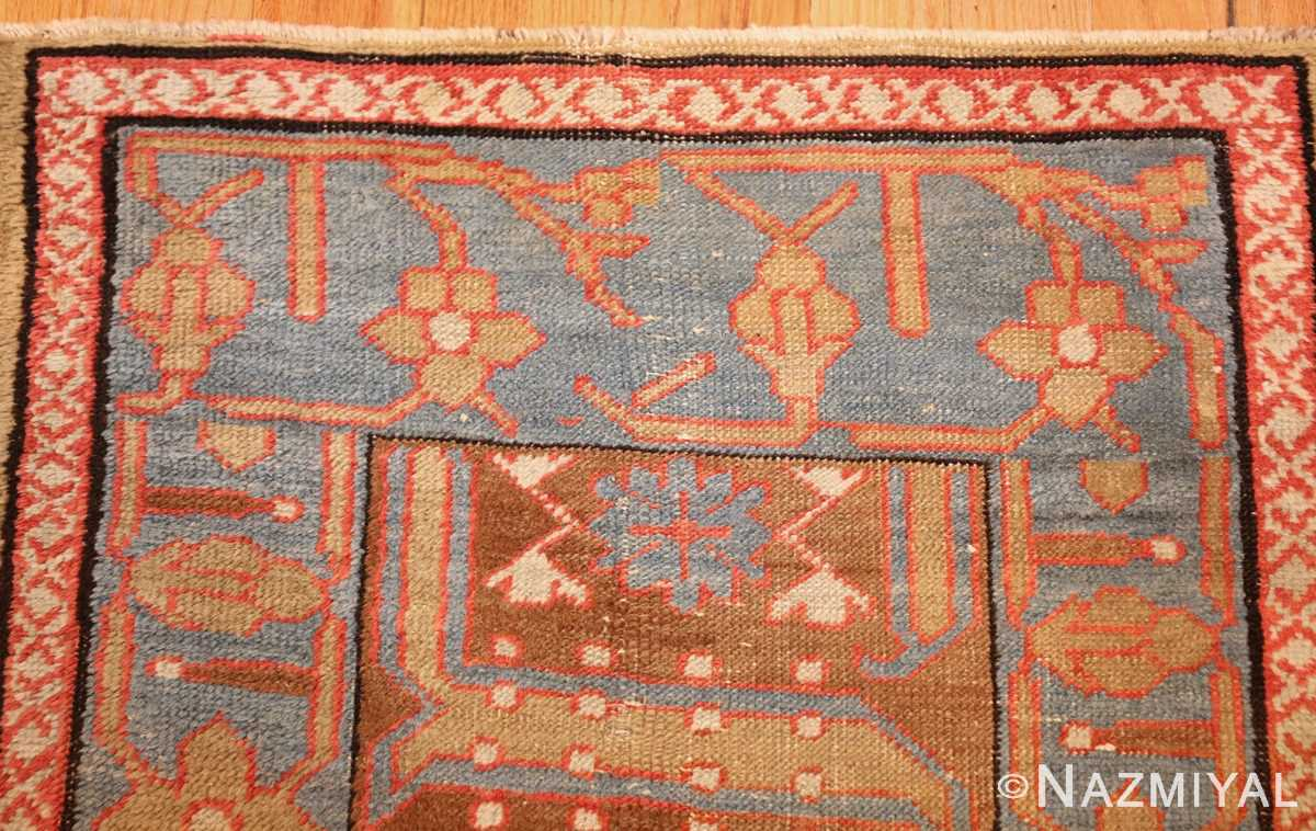 long antique bakshaish persian rug runner 49278 blue Nazmiyal