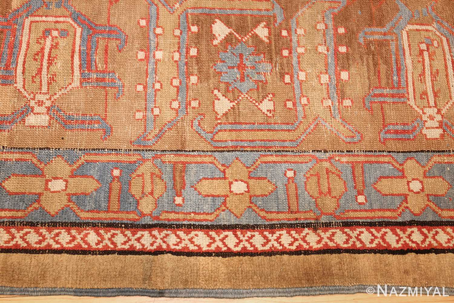 long antique bakshaish persian rug runner 49278 border Nazmiyal