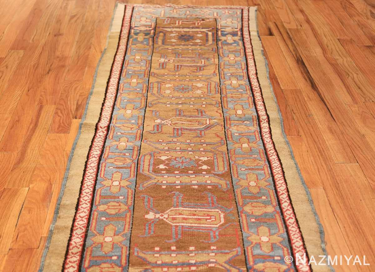 long antique bakshaish persian rug runner 49278 field Nazmiyal