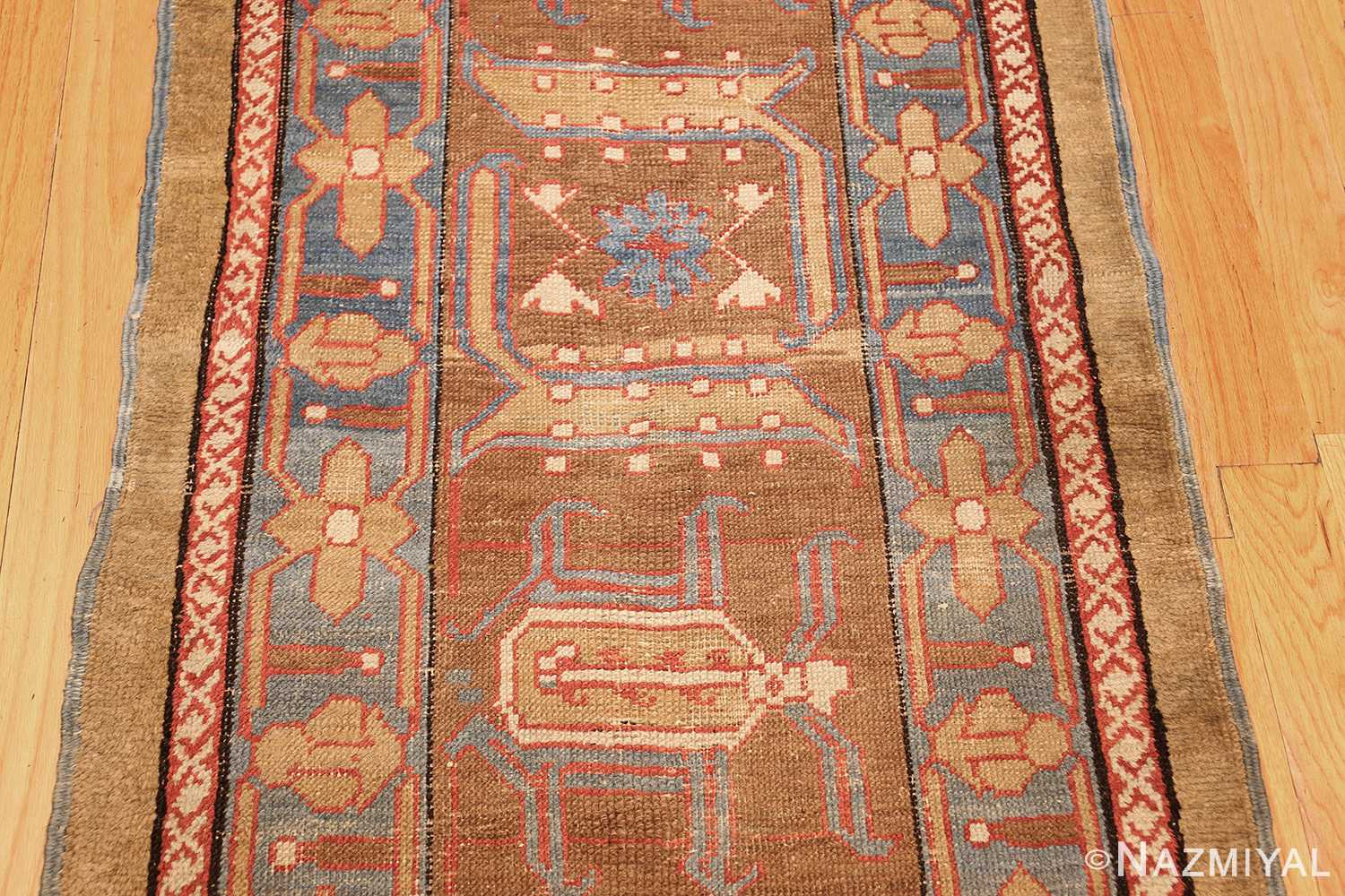 long antique bakshaish persian rug runner 49278 pattern Nazmiyal