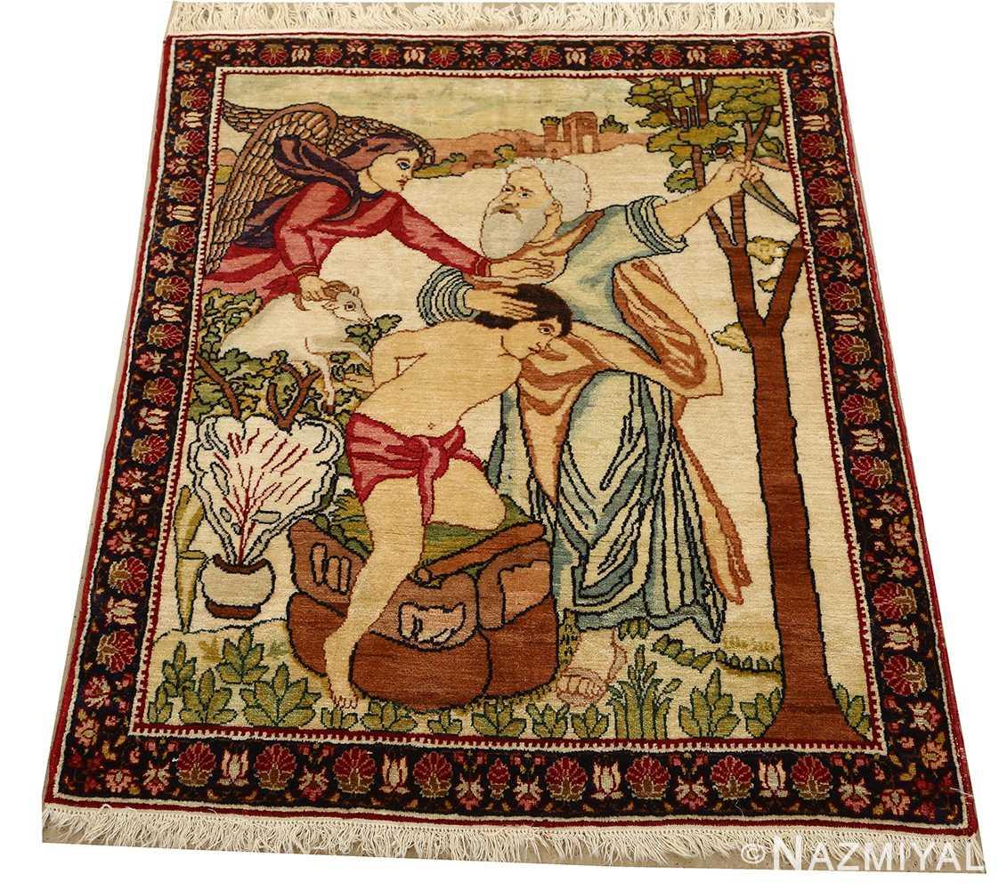 pair of antique biblical kerman persian rug 51173 whole Nazmiyal