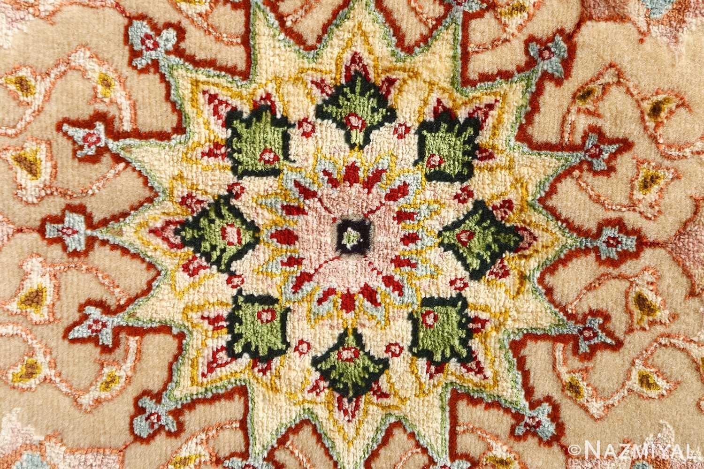 shahsavarpour design vintage tabriz persian rug 51158 star Nazmiyal