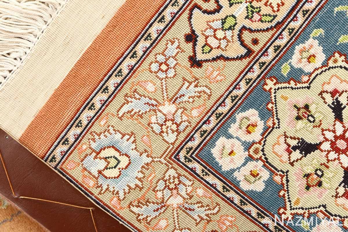 shahsavarpour design vintage tabriz persian rug 51158 weave Nazmiyal