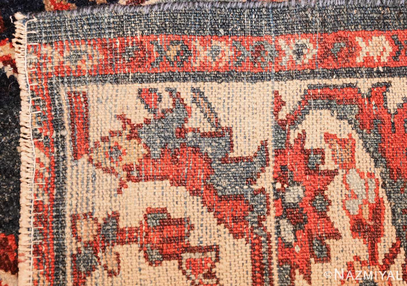 small size antique sultanabad persian rug 49301 weave Nazmiyal