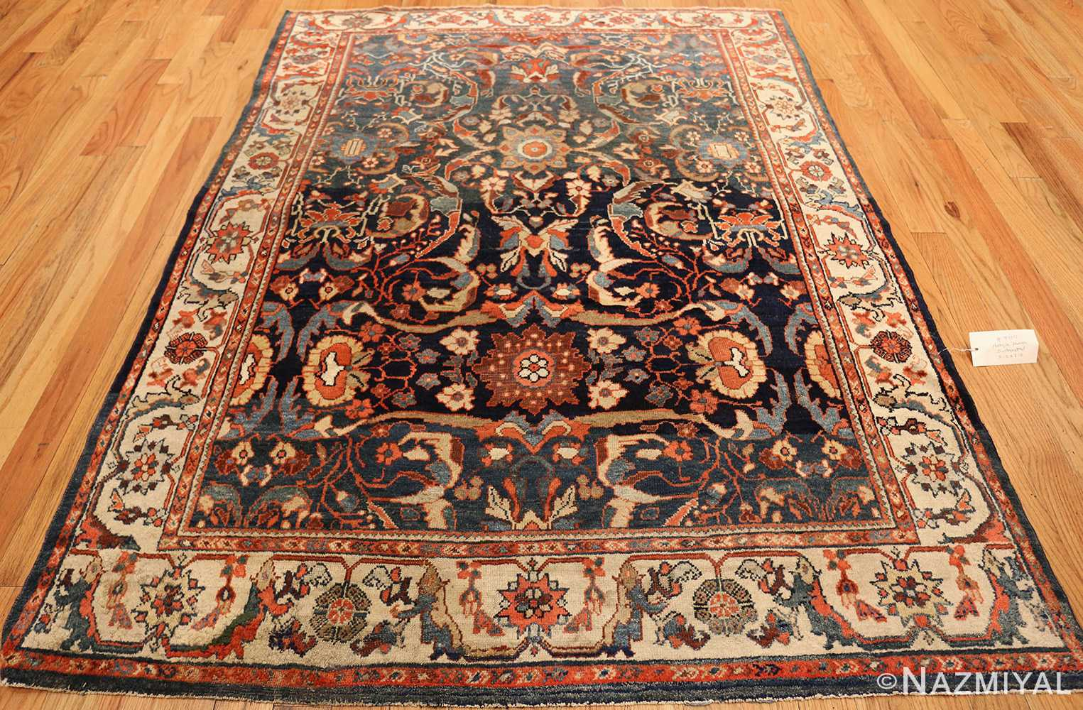 small size antique sultanabad persian rug 49301 whole Nazmiyal