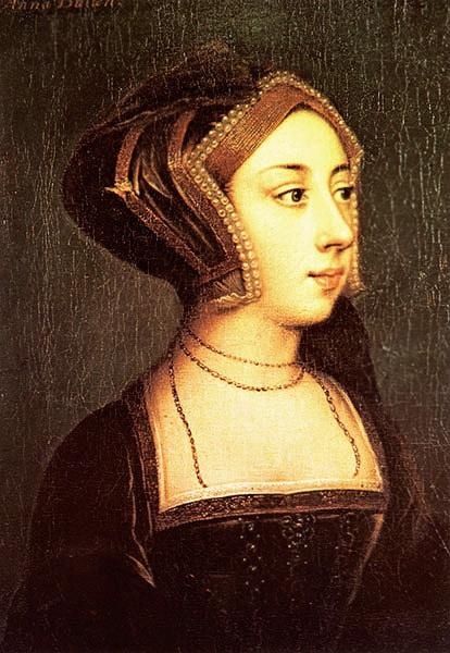 Anne Boleyn Portrait by Hans Holbein The Younger Nazmiyal