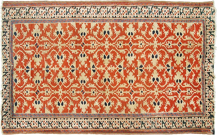 Picture of An Antique Lotto Carpet by Nazmiyal