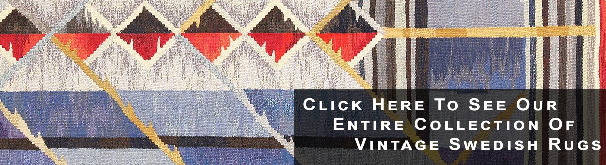 Vintage Swedish Rugs by nazmiyal